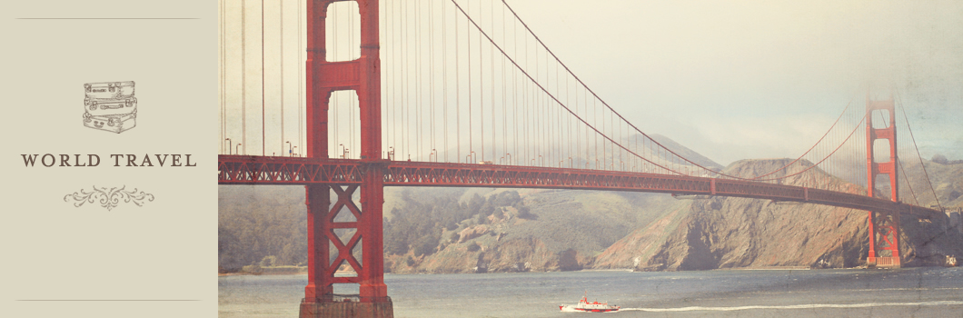 san francisco golden gate bridge for wanderlust travel